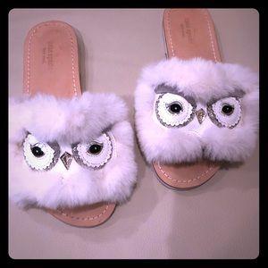 Kate Spade Owl Slides